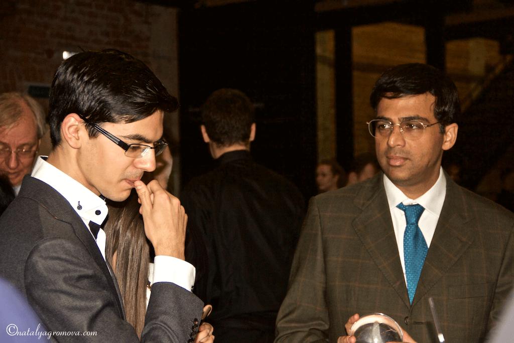 Шахматы. Гири и Ананд — два поколения мастеров